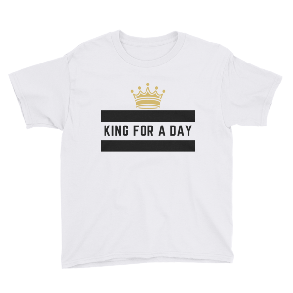 Youth Short Sleeve King For a Day Tee