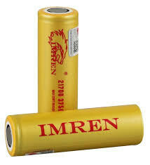 BATERIA 21700-IMREN- 40A (3750mAh) 4.2V (Gold)