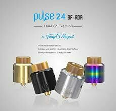PULSE 24 BF RDA By VANDY VAPE & Tony B -(24 mm)