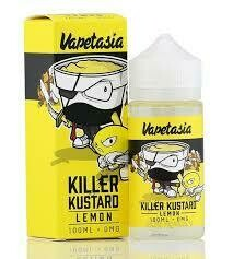 VAPETASIA KILLER CUSTARD 100ml. 3 mg.