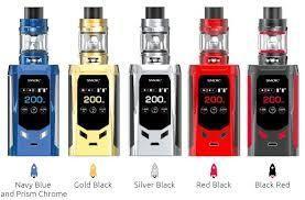 SMOK R-KISS 200W KIT con TFV8-MINI V2 TANK (Con Bateria)