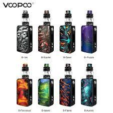 VOOPOO DRAG 2 (s/b) STARTER KIT-with UFORCE T2 Tank-177W