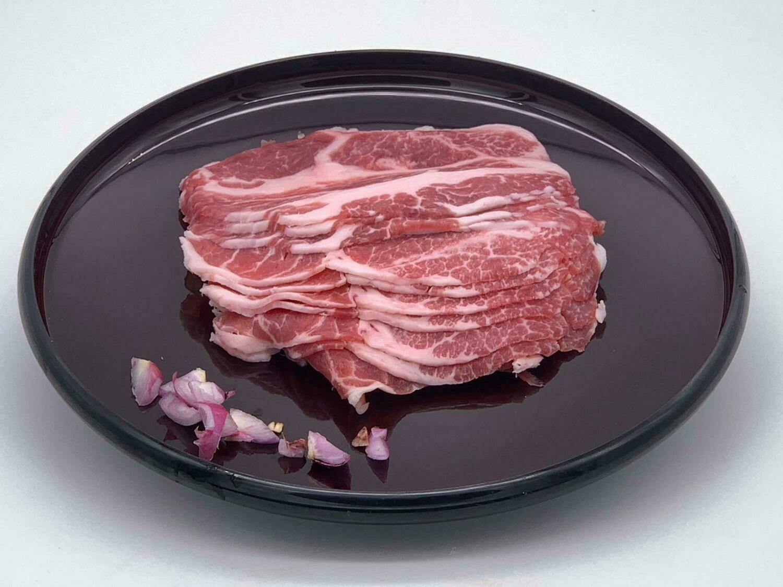 Pan Royal Pork Collar Shabu Shabu