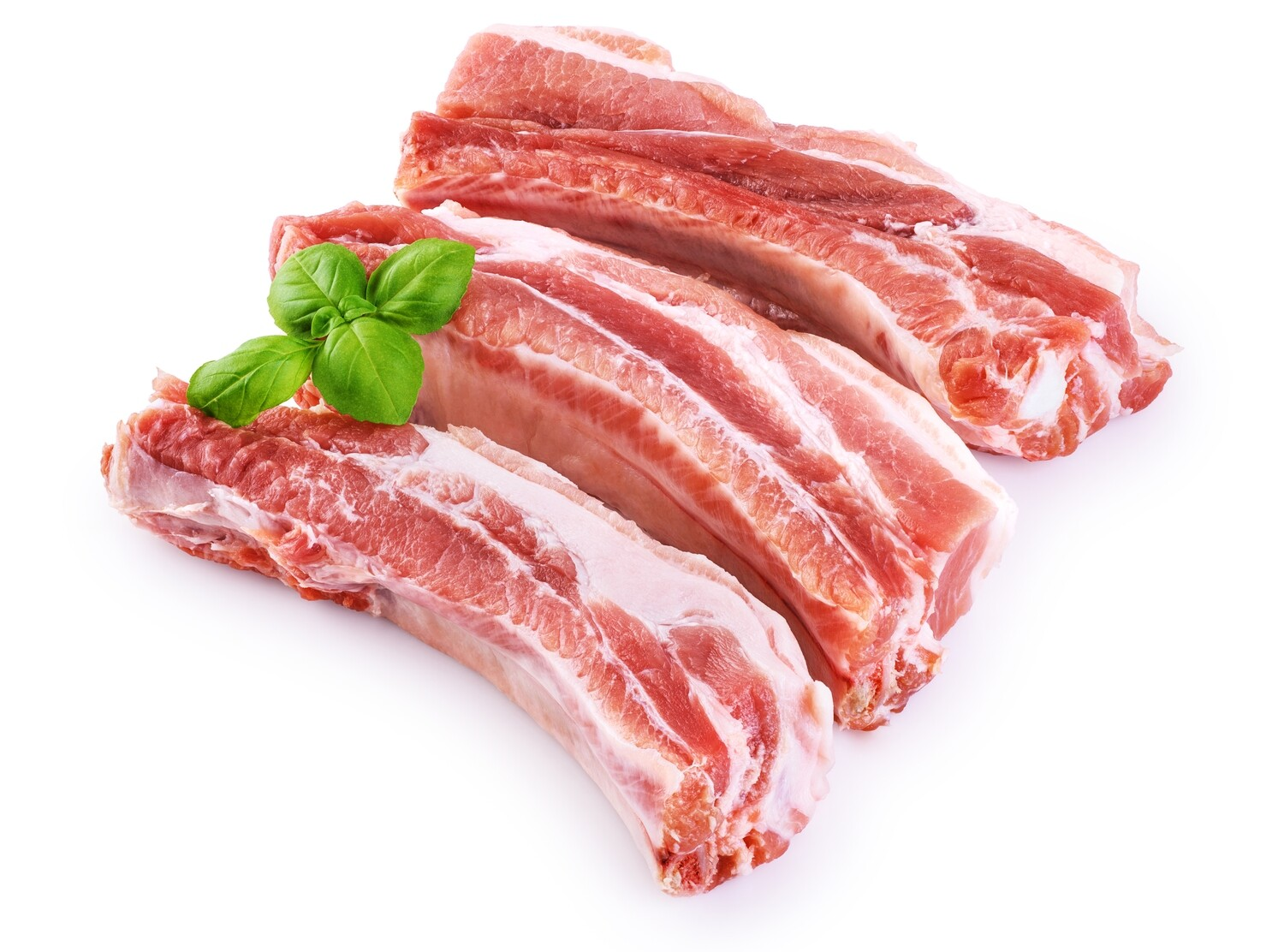 Pan Royal Pork Riblet Cut