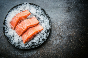 Pan Royal Fresh Salmon Fillet 500g +/- (Per Tray)