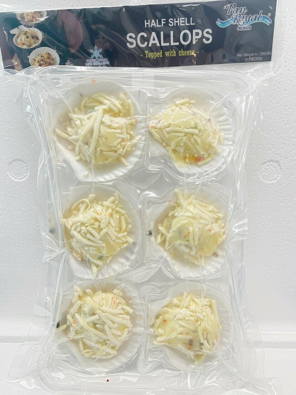 Pan Royal Half Shell Scallops (Cheese) 1 Carton