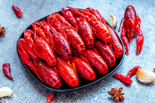 Pan Royal Frozen Cooked Crawfish (小龙虾) 1 Carton