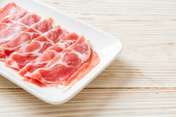 Pan Royal US Pork Collar Shabu Shabu 300g+/-