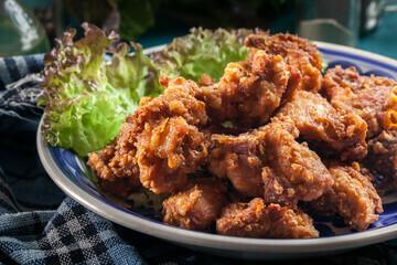 Pan Royal Frozen Spicy Chicken Karaage 1KG +/-