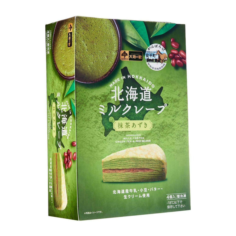 Pan Royal Hokkaido Mille Crepes Green Tea & Red Beans