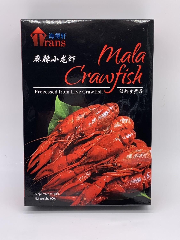 Pan Royal Frozen Cooked Mala Crawfish (麻辣小龙虾) 1 Carton