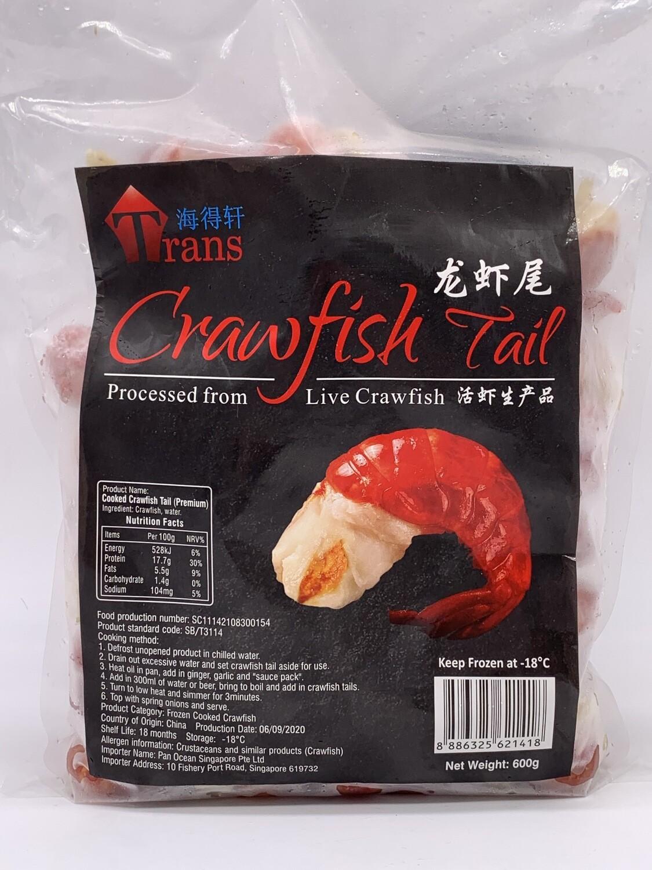 Pan Royal Frozen Cooked Crawfish (小龙虾尾) 600g