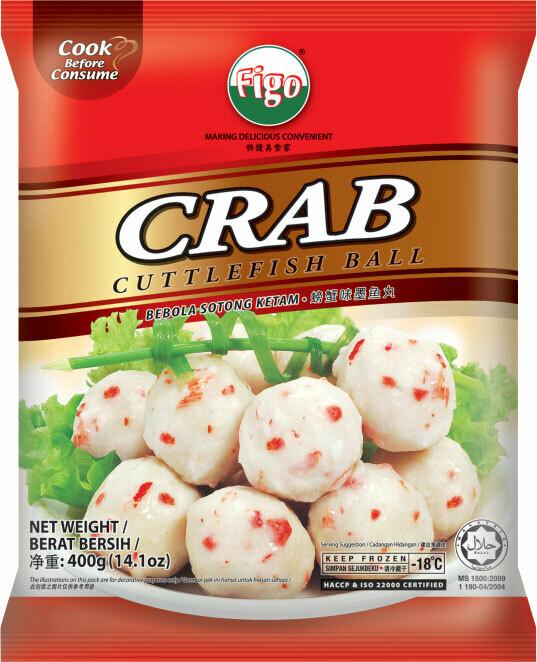 Pan Royal Crab Cuttlefish Ball