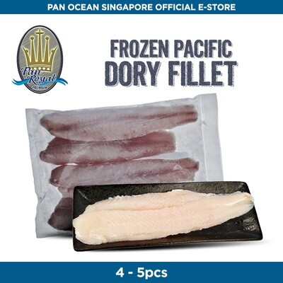 Pan Royal Frozen Dory Non Treated Fillet (2 Pieces)