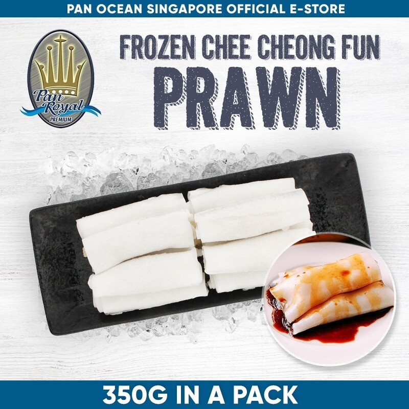 Pan Royal Chee Cheong Fan (Prawn) with Sauce