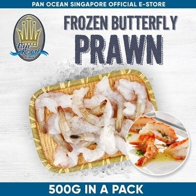 Pan Royal Frozen Prawn Butterfly