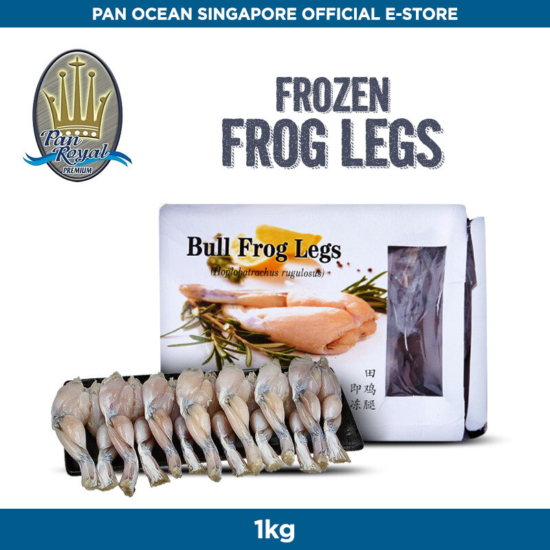 Pan Royal Frozen Frog Leg (10 Box per Carton) 1KG each box