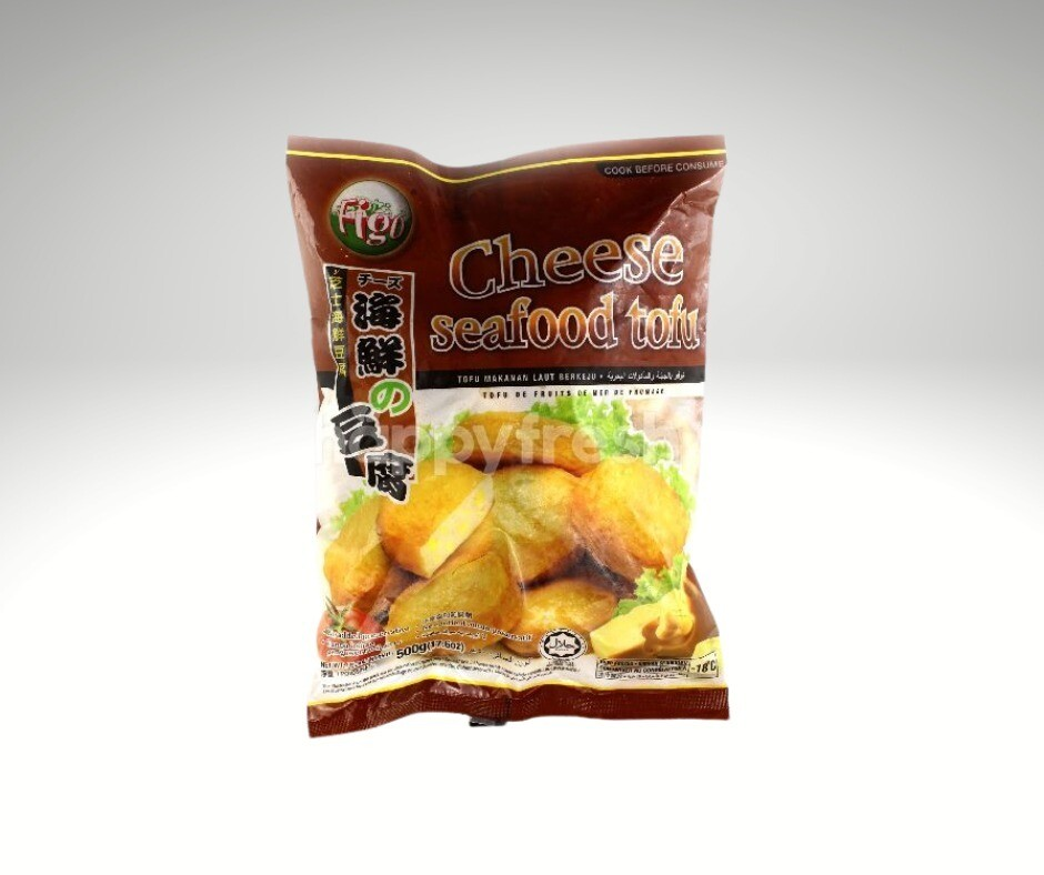 Pan Royal Frozen Cheese Seafood Tofu 500g