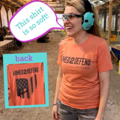 Orange Unisex Soft TShirt *FREE Shipping*