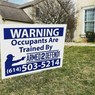 Yard Sign - Free for Pick Up Only