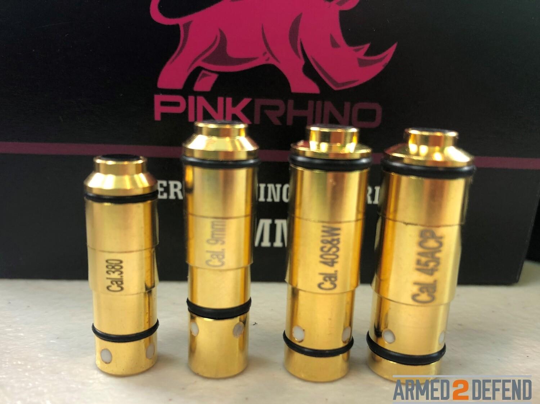 Laser Training Cartridge - Pink Rhino