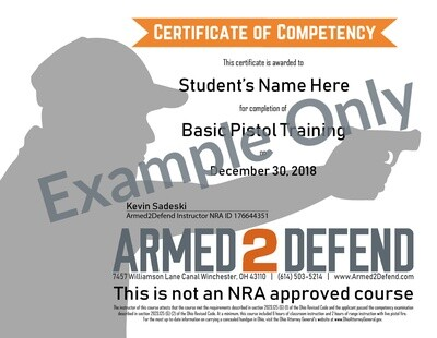 Emailed - Replacement Course Completion Certificate