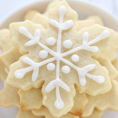 Sugar Cookies (Assorted Shapes, Box of 5)