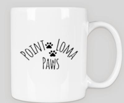 Point Loma Paws Mug