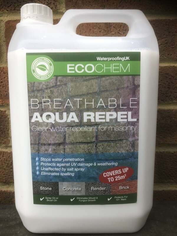 Aqua-Repel - Breathable Water Repellent for Brickwork and Masonry