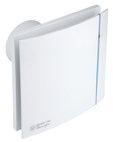 Silent 100 Design luchtververser zonder timer zilver CZ, debiet 95m3/h 040/5210603400