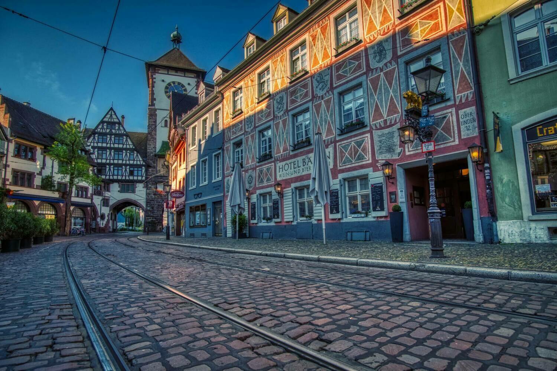 Freiburg - Schwabentor sunrise