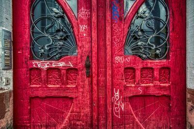 Freiburg - Rote Tür