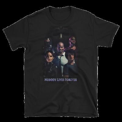 Nobody Lives Forever Poster Short-Sleeve Unisex T-Shirt