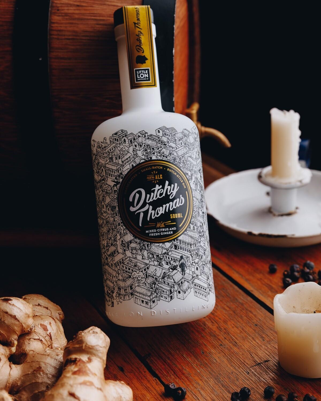 Dutchy Thomas 'Dutch-style' Gin - 500ml
