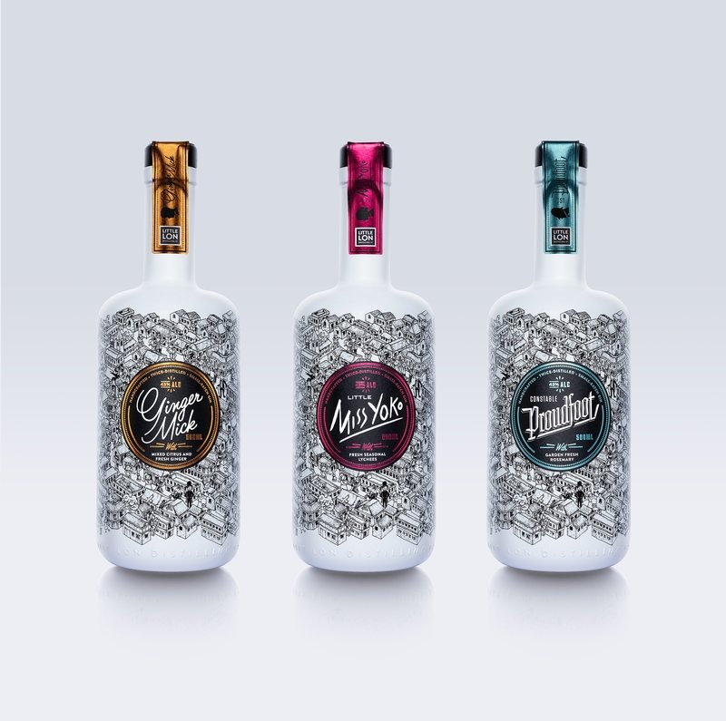 SAVE! 3-pack Little Lon Characterful Gins