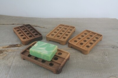 Large Wooden Soap Dishes