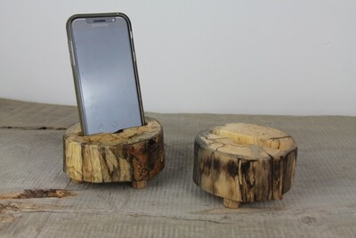 Wooden Docking Station, Phone Stand, Charging Station