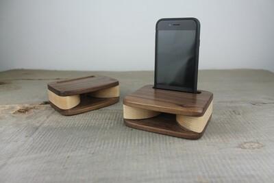 Wooden Phone Stand Amplifier, Passive Speaker