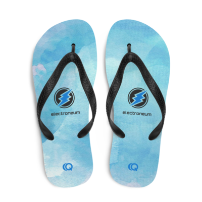 ETN Watercolor Flip-Flops