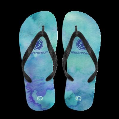 ETN Light Watercolor Flip-Flops