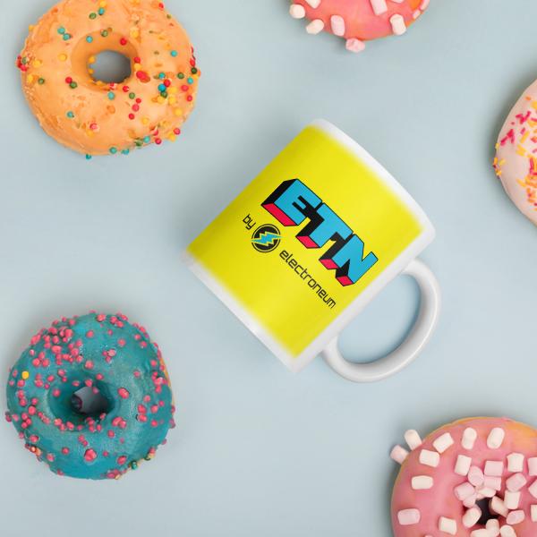 ETN by Electroneum Yellow Mug