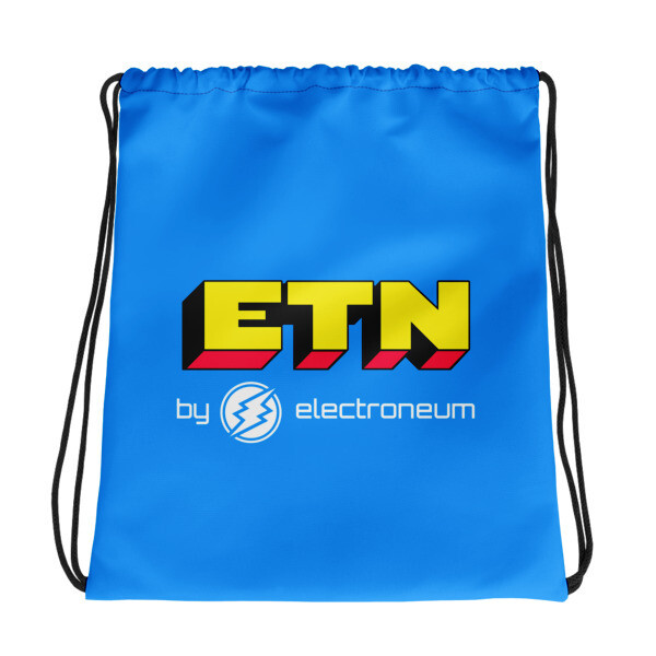 ETN by Electroneum - Drawstring bag