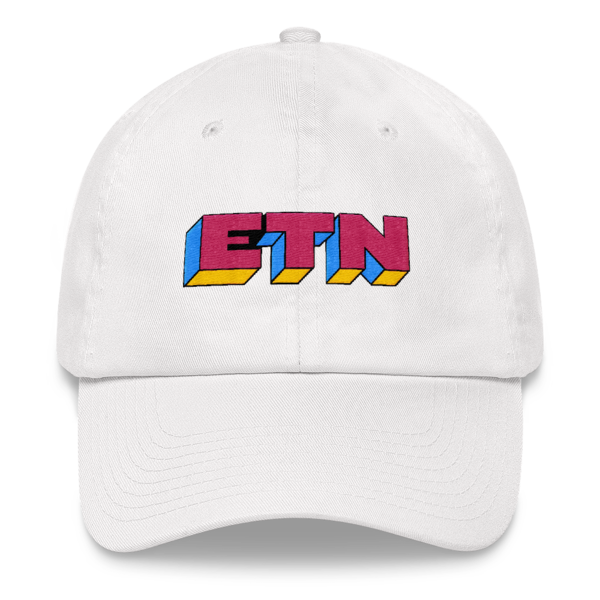 ETN by Electroneum Hat - Pink/Blue/Yellow