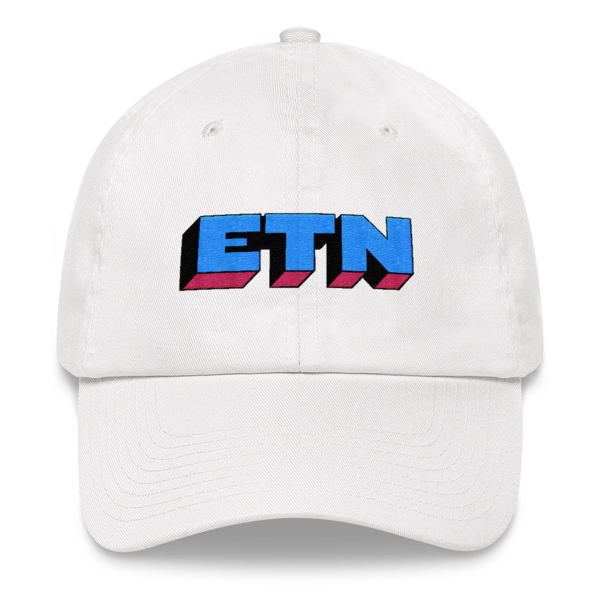 ETN by Electroneum Hat - Blue/Pink/Black