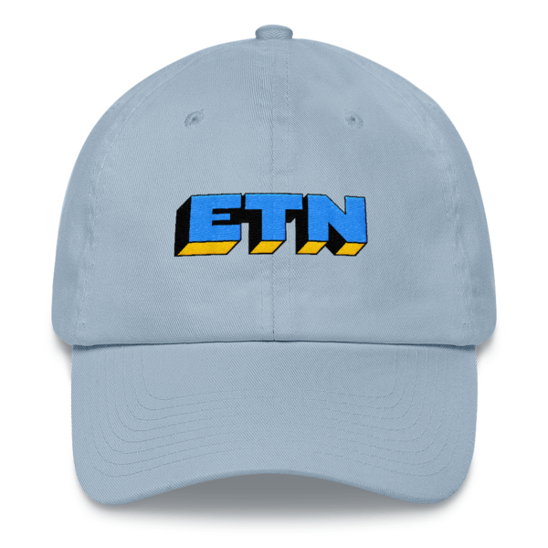 ETN by Electroneum Hat - Blue/Black/Yellow