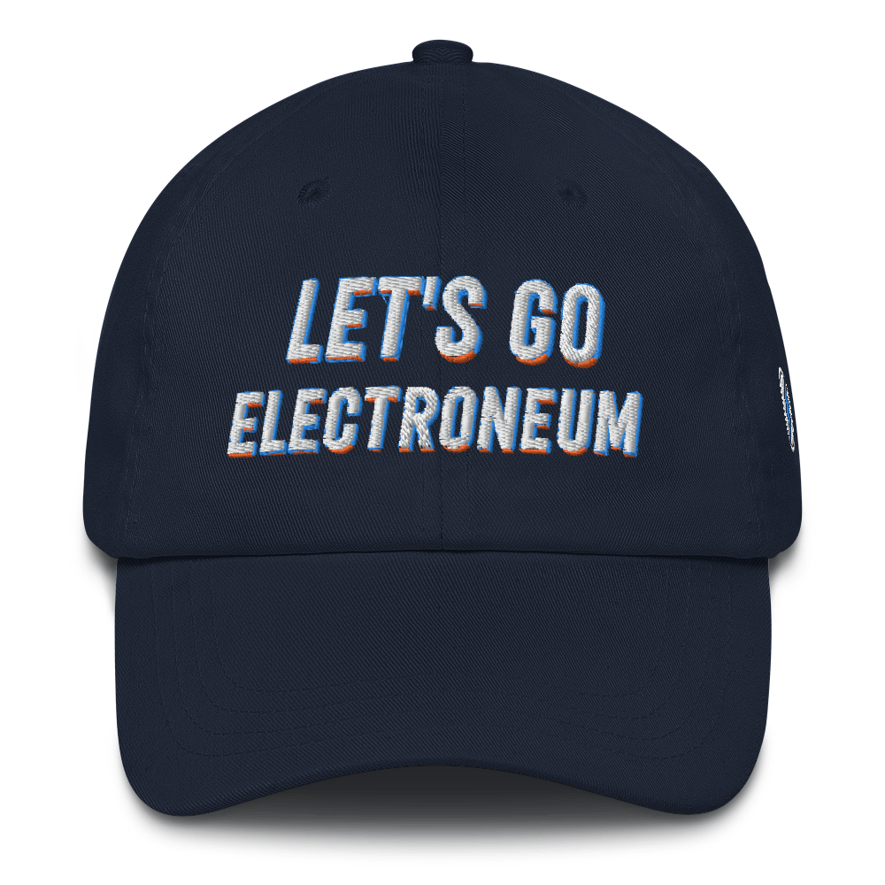 Let's Go Electroneum with ETN Logo (Blue/Gold Shading) - Hat