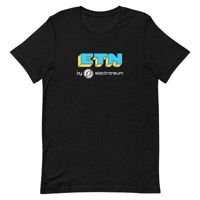 ETN by Electroneum T-Shirt (Blue/Yellow)