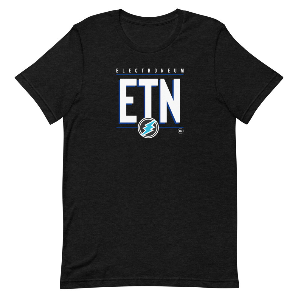 ETN Amplifier T-Shirt (White/Blue)