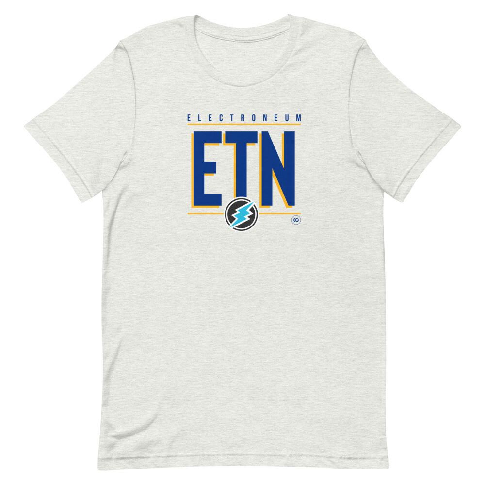 ETN Amplifier T-Shirt (Royal Blue/Yellow)