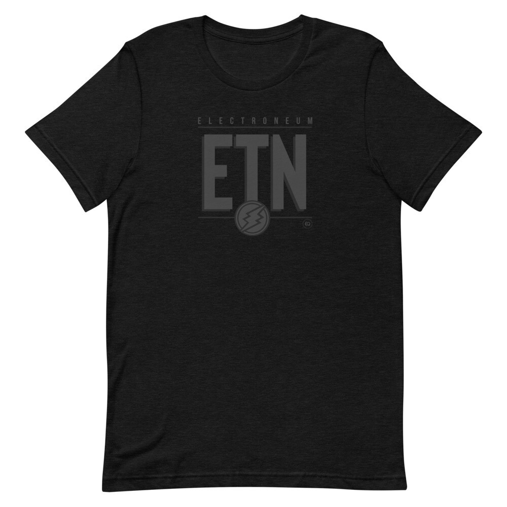 ETN Amplifier T-Shirt (Midnight Edition)